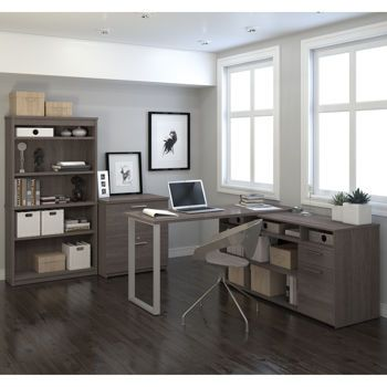 Tremblant 3 Pc Office Set 899 Costco Office Furniture Collections Home Office Set