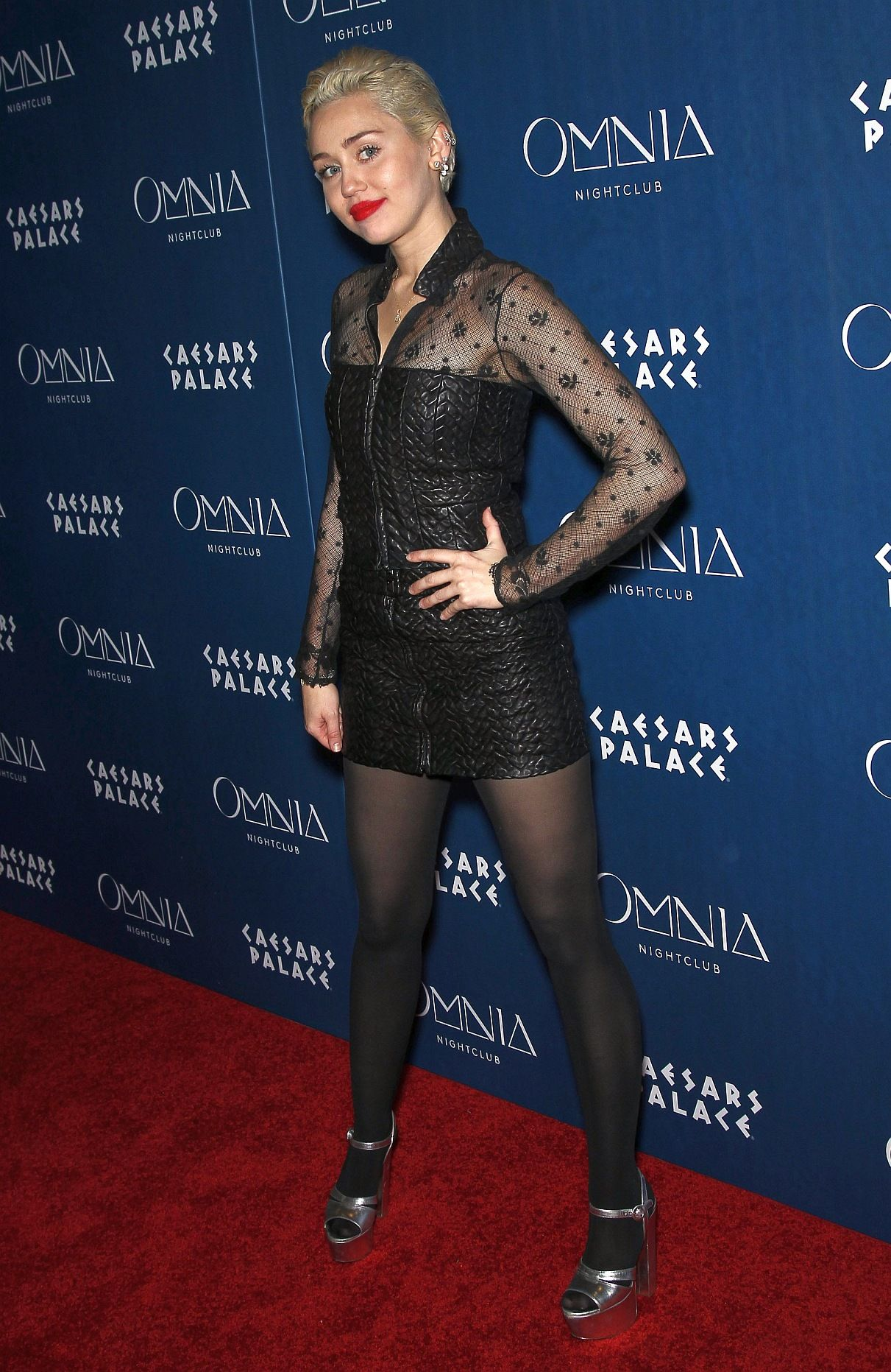 Miley cyrus in pantyhose