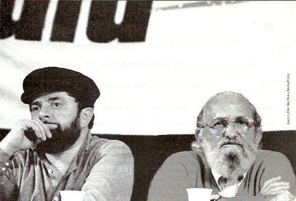 Lula e Paulo Freire | Acervo: Nita, Ana Maria Araújo Freire ...