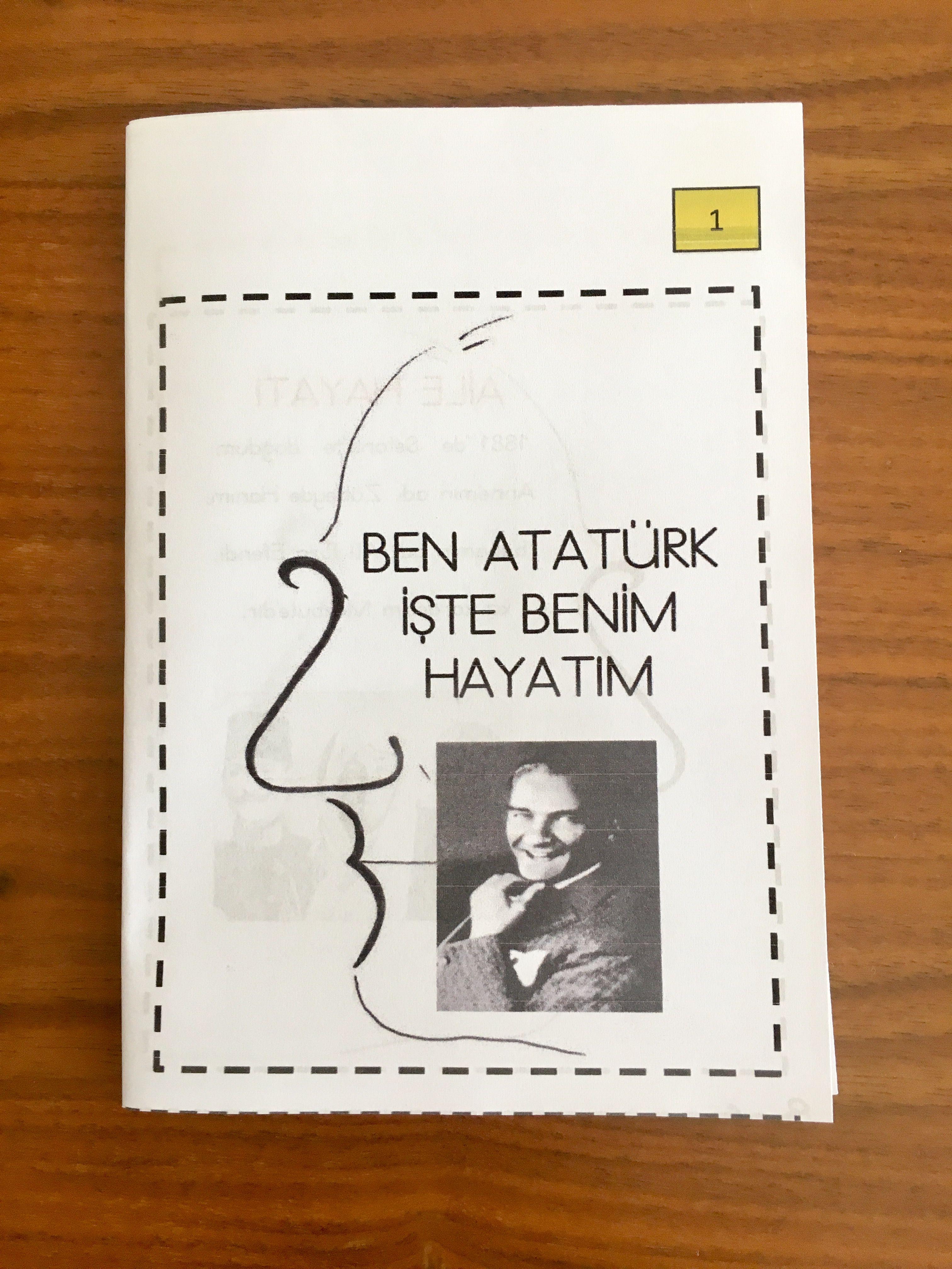 10 Kasim Ataturk Un Hayati Kitapcik Cigdem Ogretmen Okul