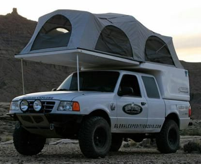 truck camping flippac camping stuff ford ranger ford ranger camper truck camping. Black Bedroom Furniture Sets. Home Design Ideas