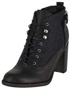 Womens Spicy Round Toe Ankle Fashion Boots