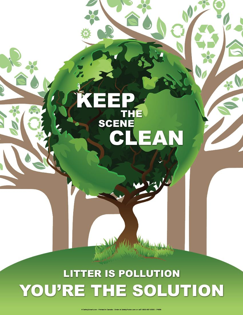 write a poster on environmental message