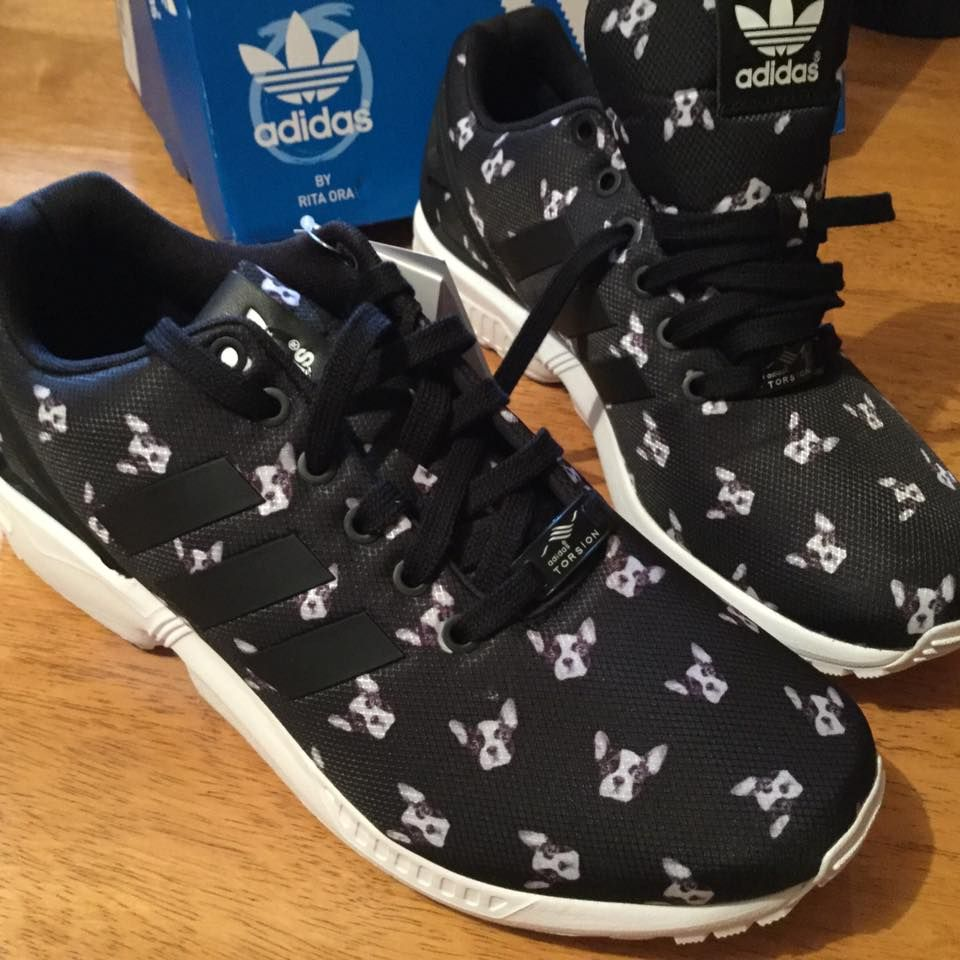 Hootie Kicks! French Bulldog Adidas