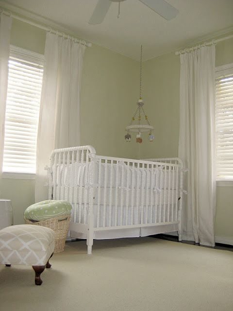 Our Nursery Baby Room Colors Neutral Light Green Nursery Baby Girl Nursery Room