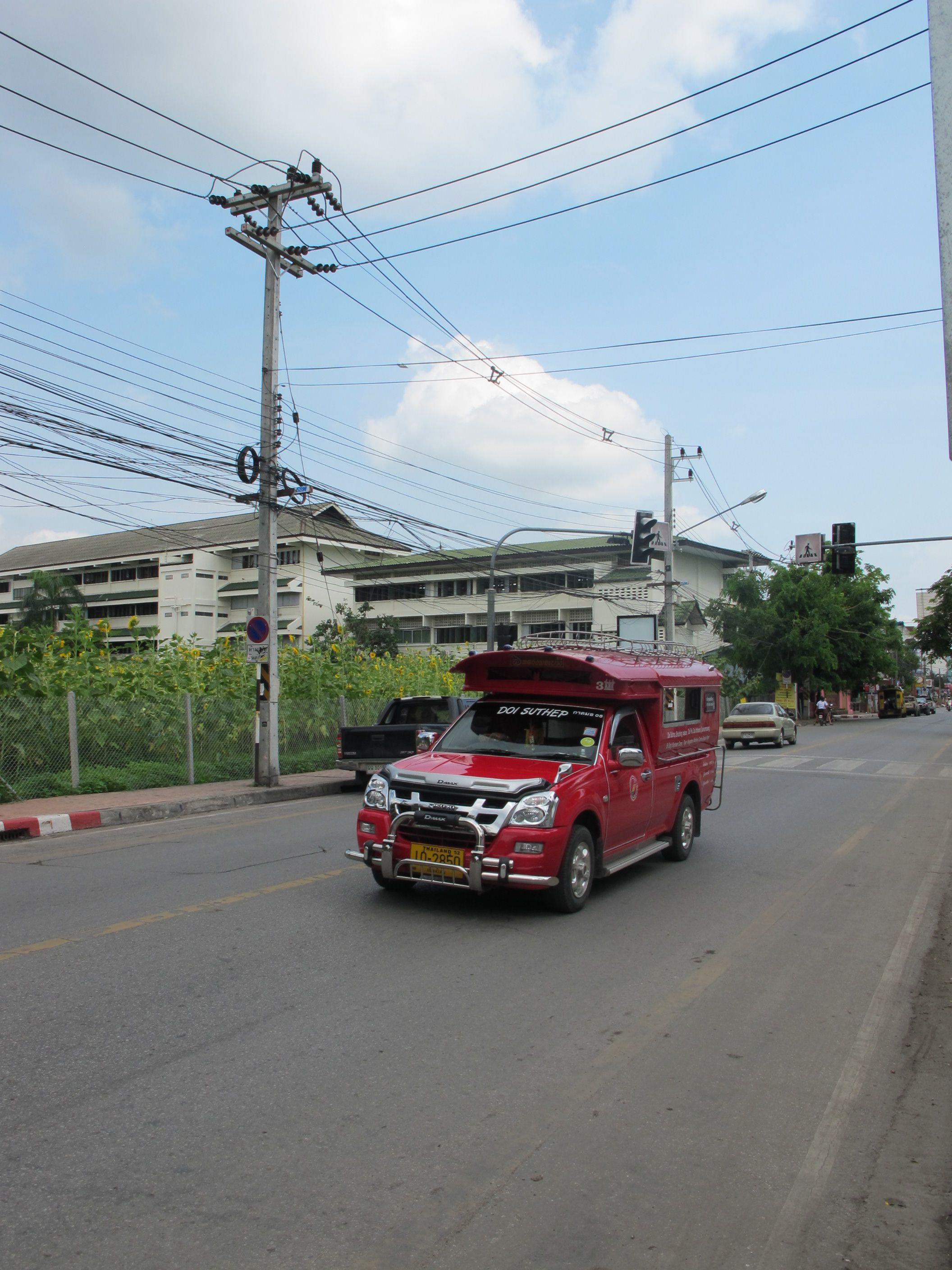 You May Try Song Thaew 2 Seated Rolls For Passengers Or Shared Taxi To Get Around Chiang Mai In A Very Local Way