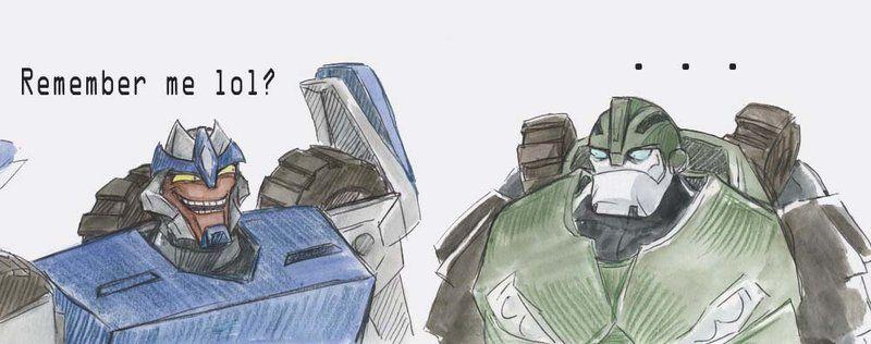 Bulkhead is displeased. | Transformers | Pinterest