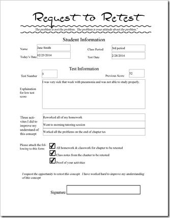 Do you allow students to  - reference request form