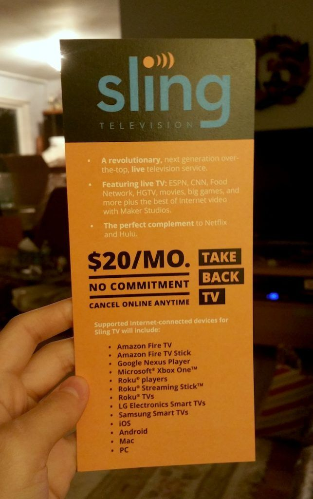 Want To Watch Sling Tv For Free Starts From September 26 But Only For 18 Hours Sling Tv Tv Reviews Tv Without Cable