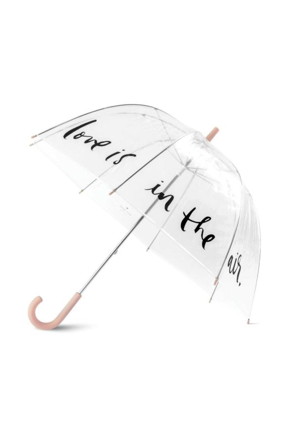 Love is in the Air Umbrella - Kate Spade #clearumbrella