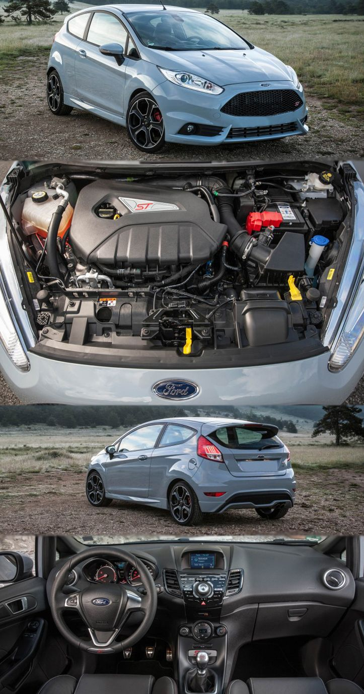 All New Ford Fiesta St200 Smokes British Tarmac Get More Details