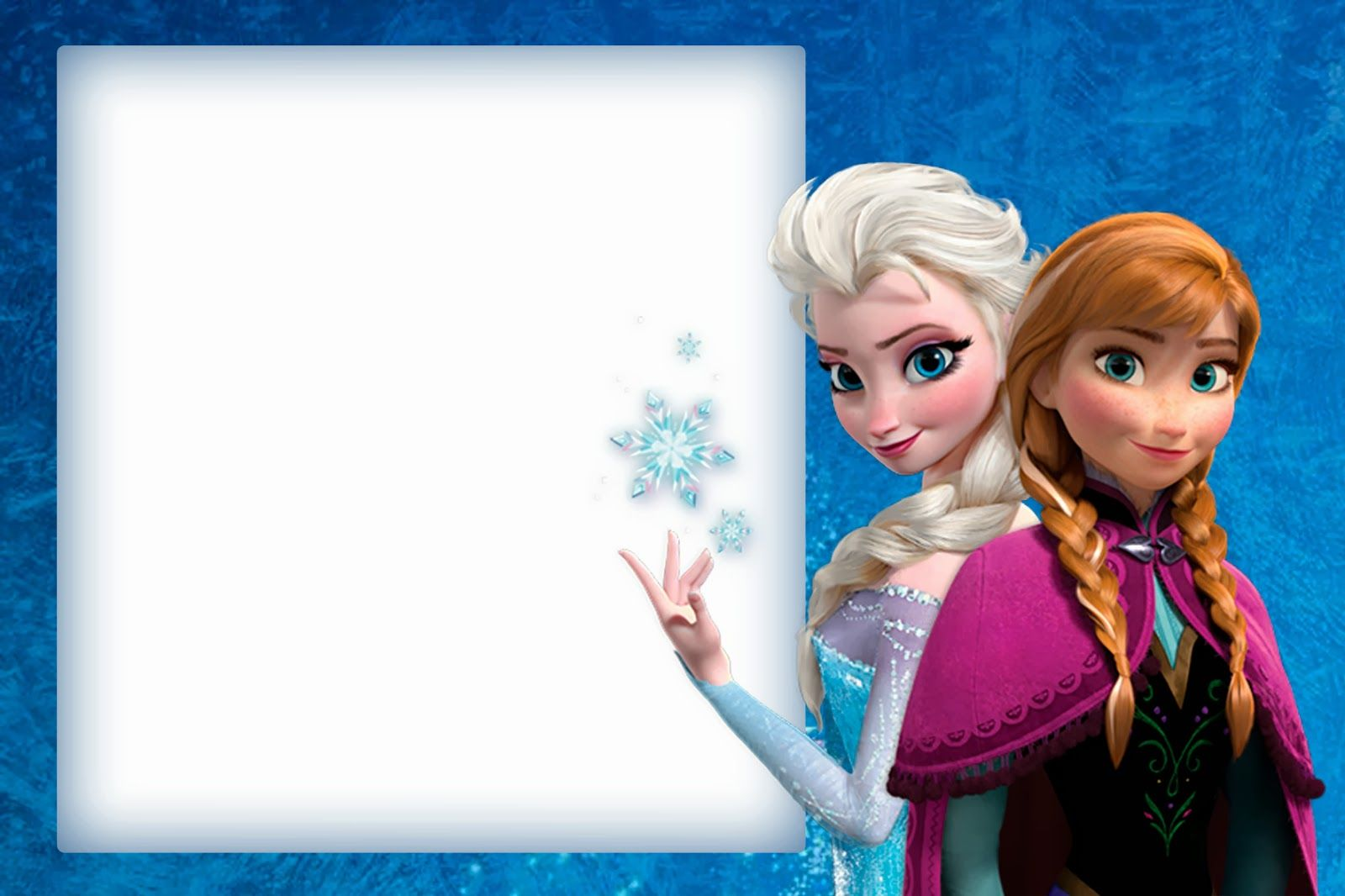 Ideas Birthday Frozen Party Invite | frozen partytjie | Pinterest ...