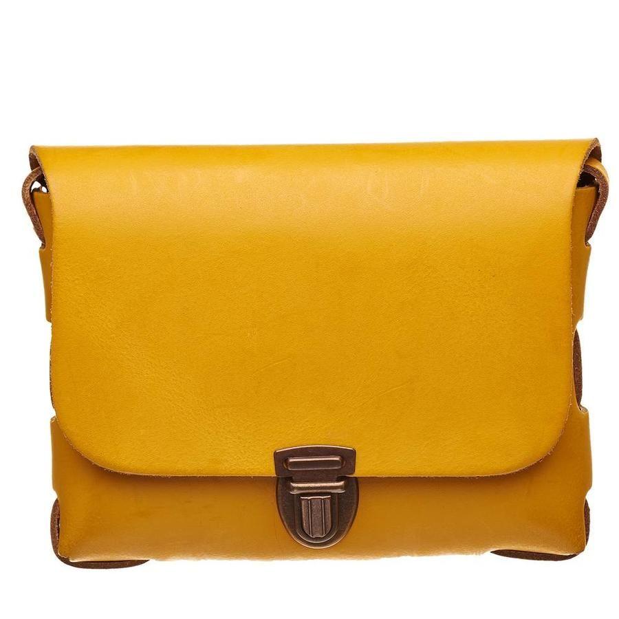 1005fe57d90 Elvy Tas Janus Plain Crossbody Oker   Handbags in 2019 - Janus, Bags ...