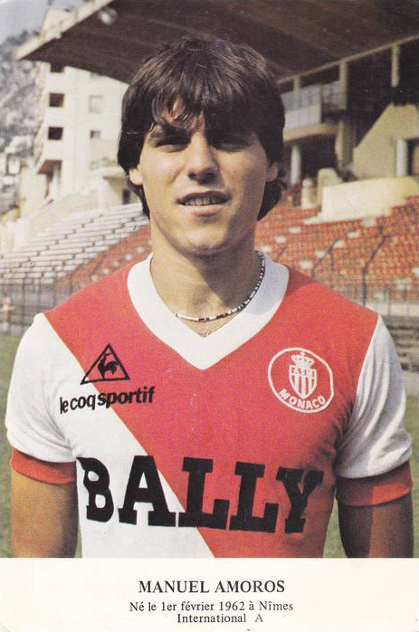 Manuel Amoros (Monaco)   As monaco, Vintage football, Football