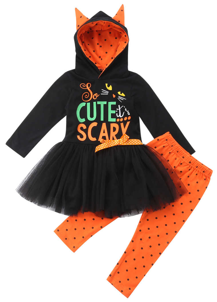 Scary Hooded Set #spookyoutfits