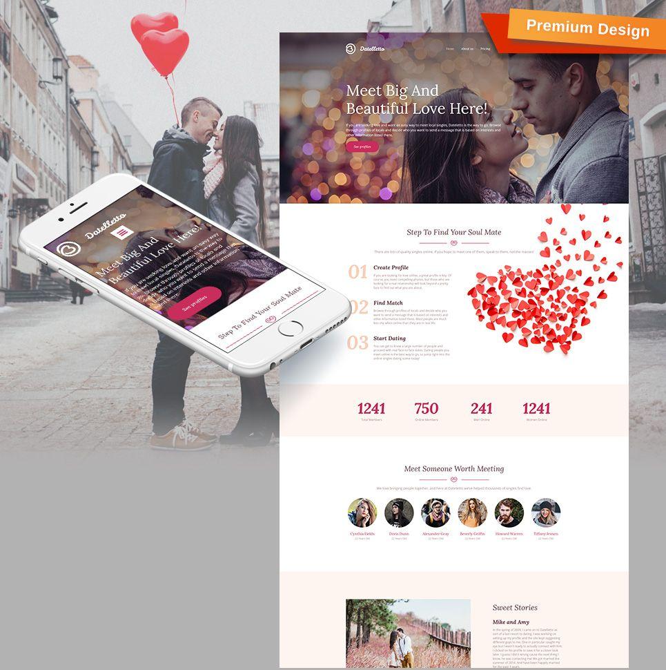 Dating website CMS