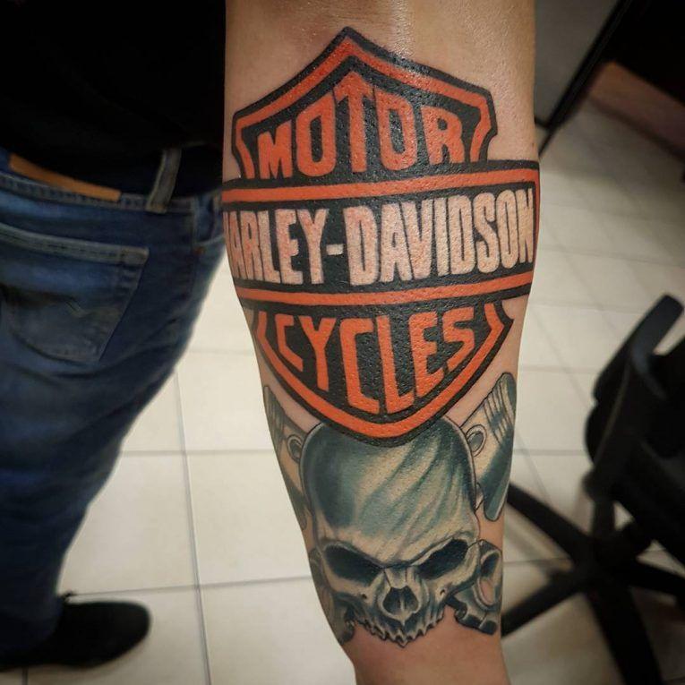 Harley davidson tattoo 97 harley davidson tattoos