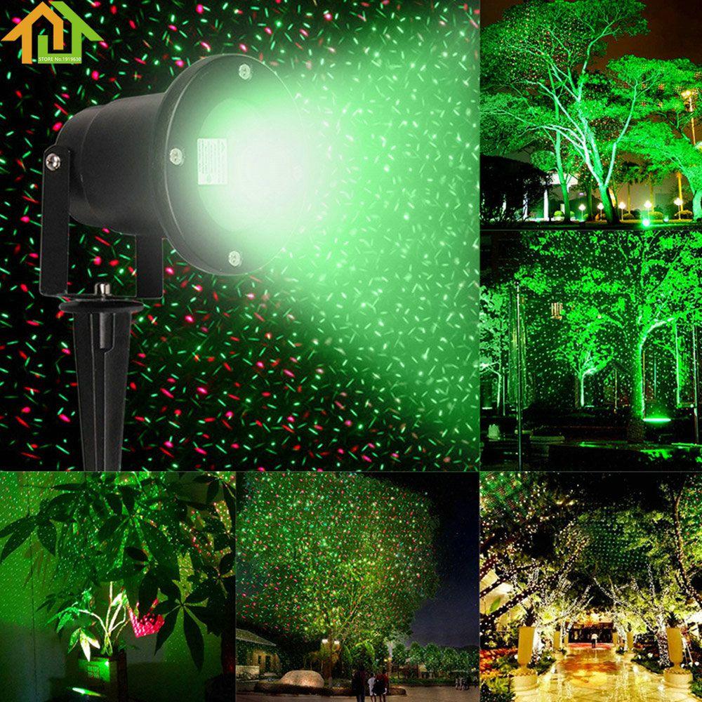 Waterproof Garden Tree Moving Laser Projector Led Stage Light Sparkling Landscape Lights Outdoor Gardens Landscaping Modern Outdoor Lighting Outdoor Projector