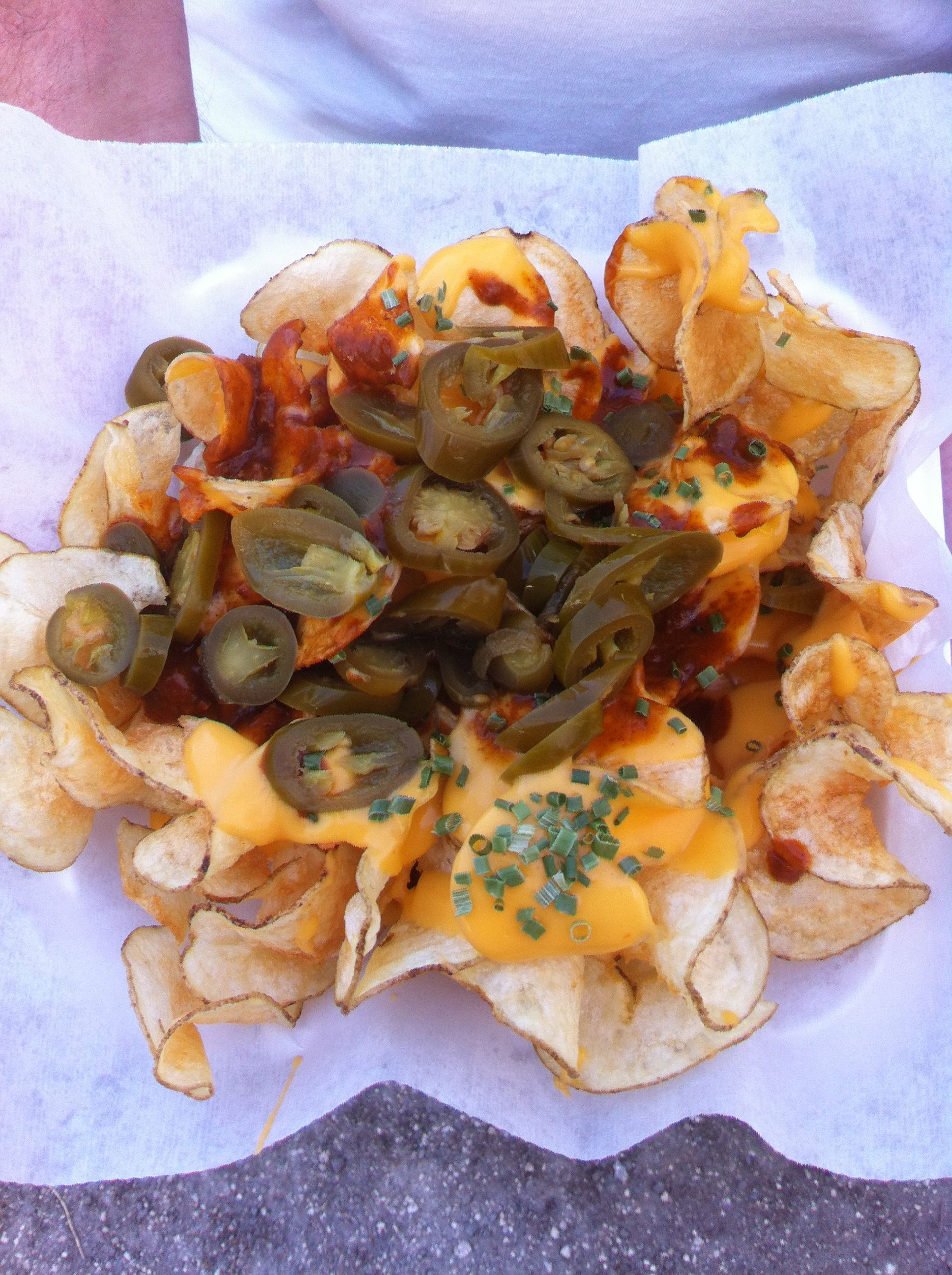 Loaded Ribbon Fries From Strawberry Festival Plant City Fl Carnival FoodBusiness IdeasRibbonPotato