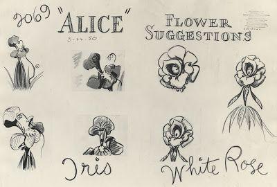 Deja View Talking Flowers Alice In Wonderland Flowers Wonderland Tattoo Disney Tattoos