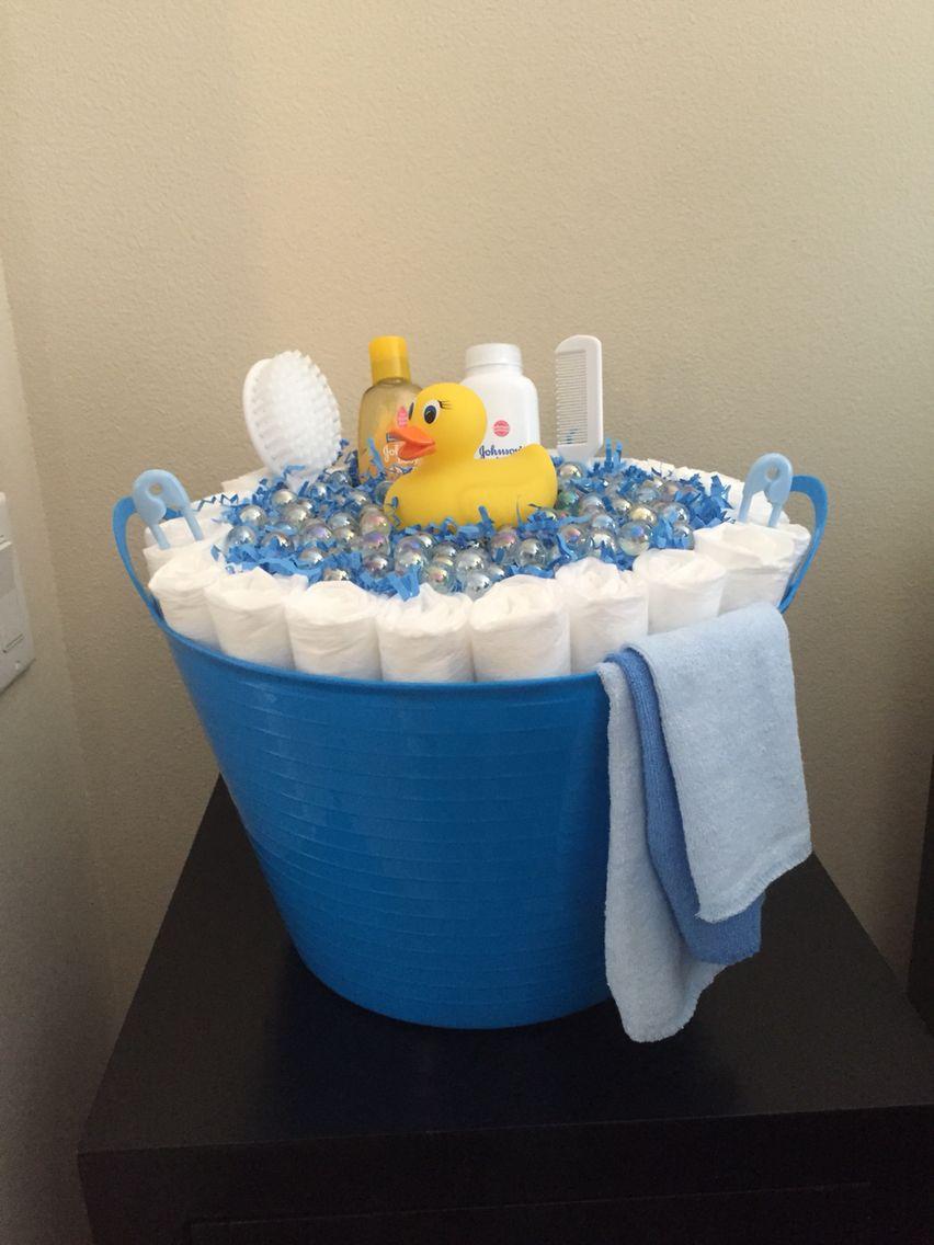 DIY Diaper Baby Boy Bubble Bath Tub | DIY Diaper Bubble Bathtub ...
