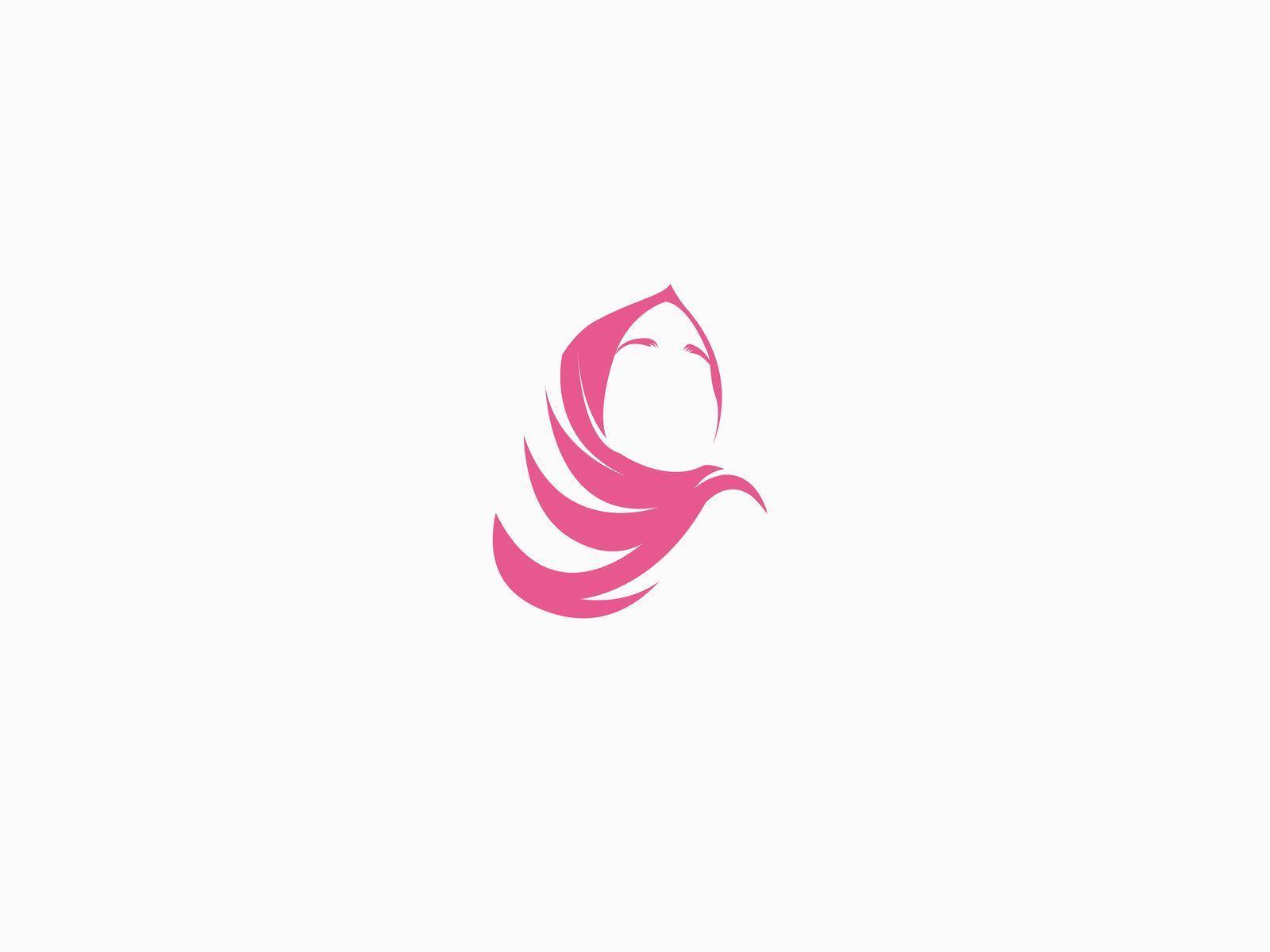 Pin by Ahmadi on logo in 10  Hijab logo, Logo concept, Branding