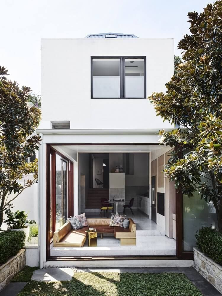 Bondi Junction Home By Alexander Co House Australian Homes Victorian Terrace