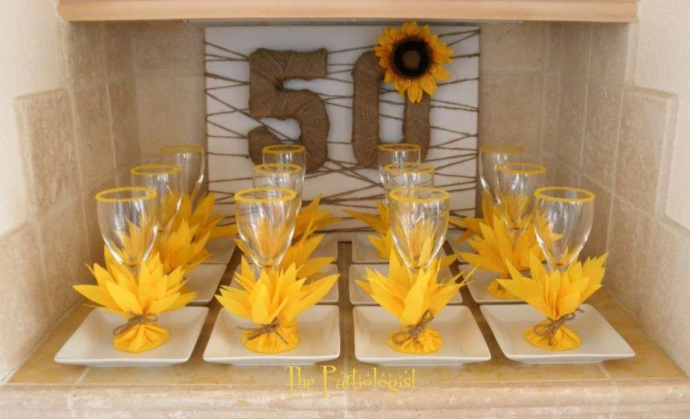 Birthday Party Ideas   Sunflower party, Sunflower birthday ...