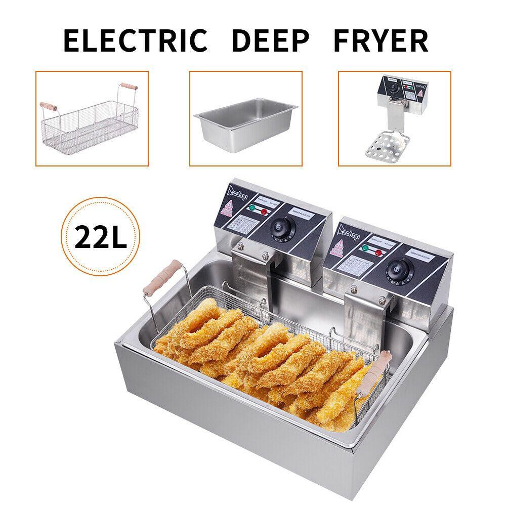 Details about 5000W Electric Deep Fryer Tank Commercial