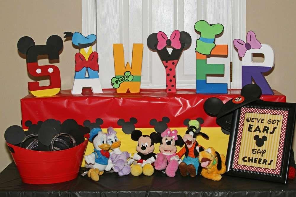 Mickey birthday party    CatchMyParty.com