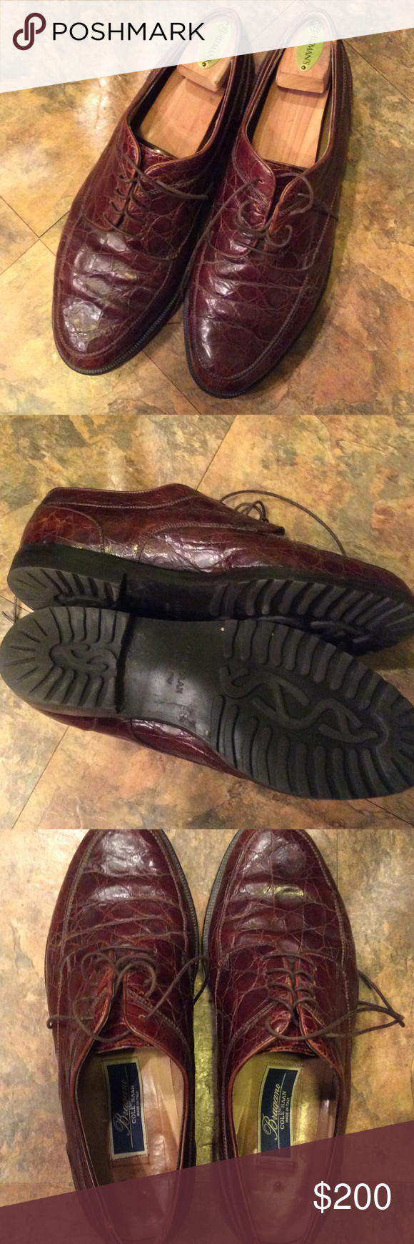 Cole Haan alligator shoes Men's size 10