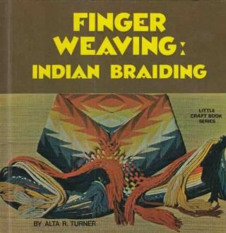 """""""Finger Weaving: Indian Braiding"""" This one of a kind, handmade recycled book journal: $14.  Mention pinterest during check-out on our website and I'll include a hand-drawn, personally lettered card along with the journal. This book and thousands more: http://www.bookjournals.com  Love, Jacob"""