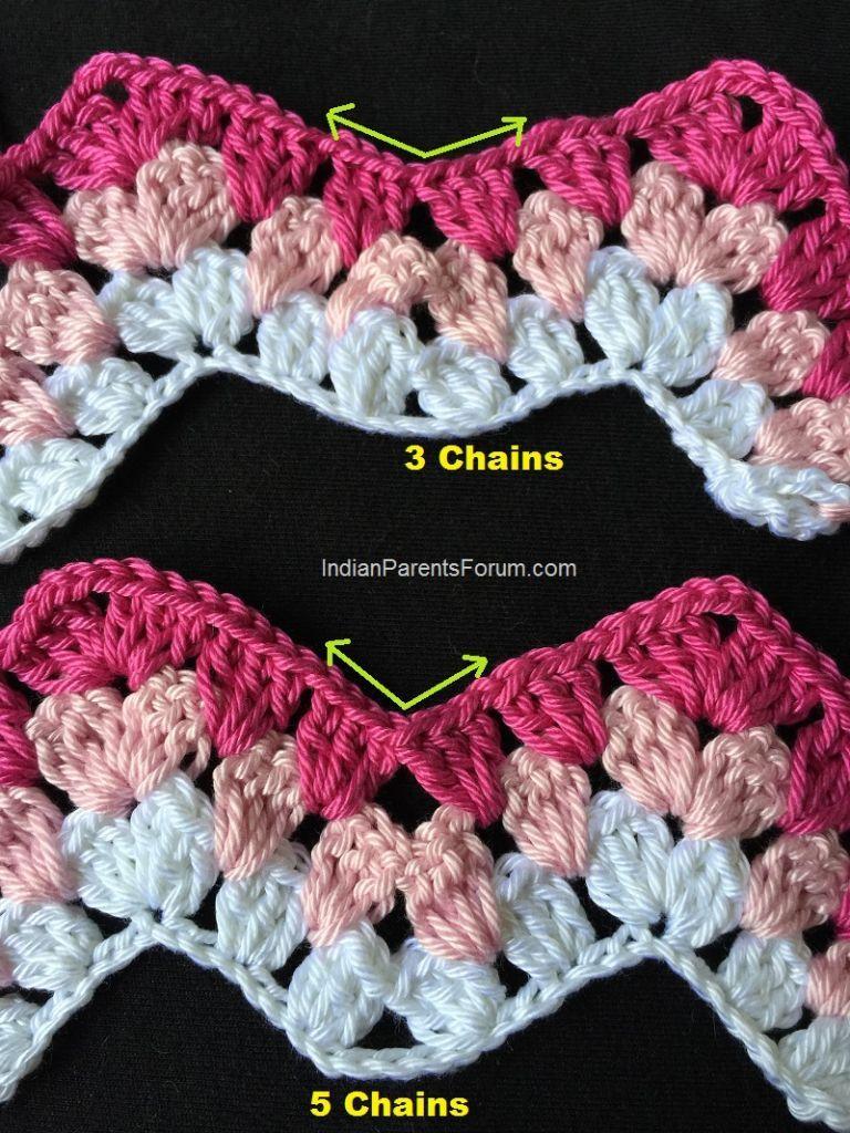 Crochet Granny Ripple Stitch Tutorial And Tips Crafts