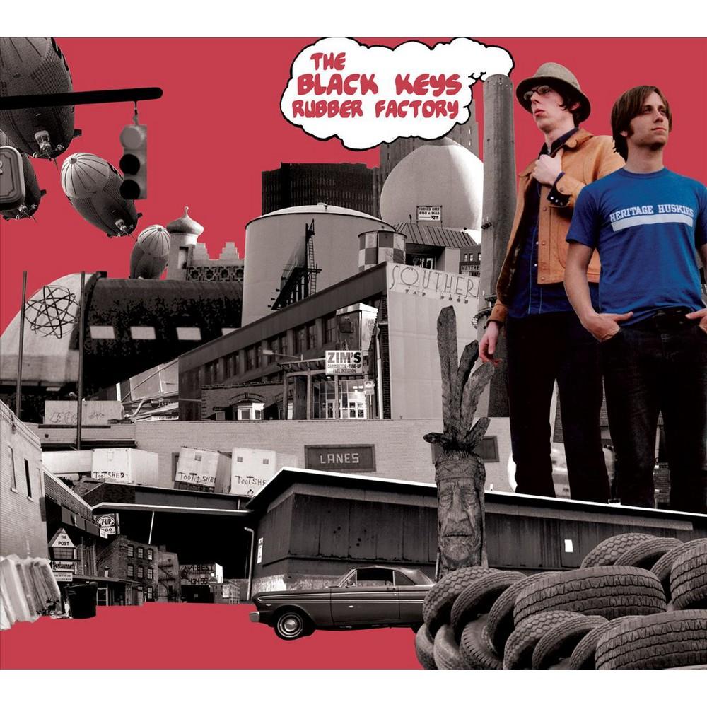 Black Keys Rubber Factory Vinyl The Black Keys Vinyl Blues