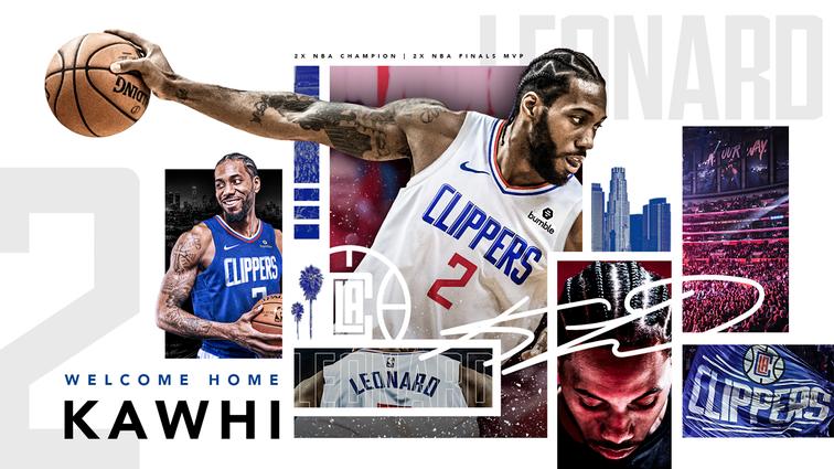 L.A. Clippers Sign TwoTime Finals MVP Kawhi Leonard