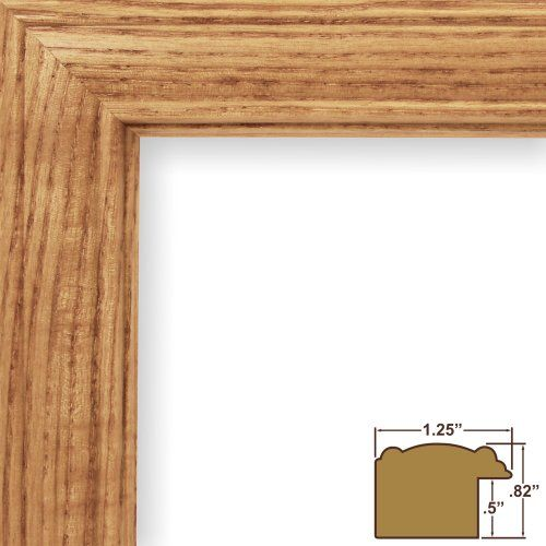 Craig Frames 59504100 24 By 32inch Picture Frame Wood Grain Finish 125inch Wide Honey Oak You Can Find Out Picture Frames Home Decor Accessories Craig Frames