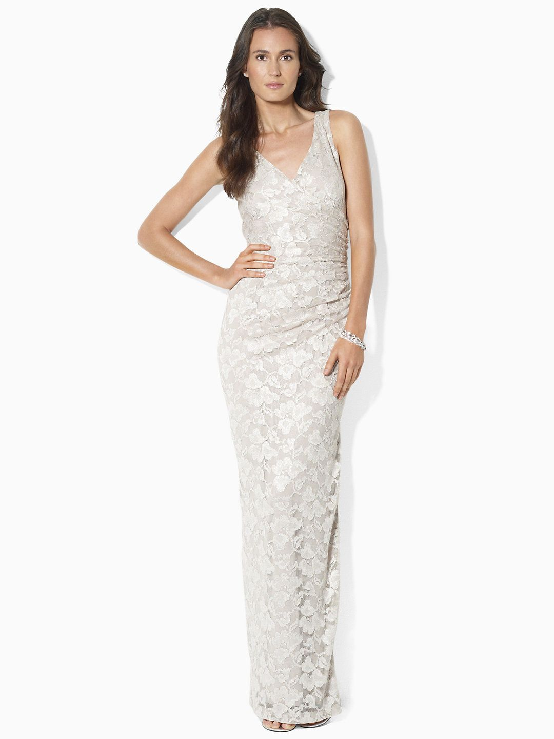 BUDGET BRIDAL // LOVE THIS DRESS: Sleeveless Lace Gown - Sale $120 ...