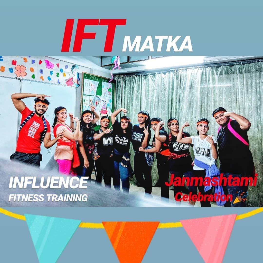 Janmashtami Celebration at IFT 🎊🥳 #positivevibesonly #influencer #influencefitnesstraining #ift #dahihandi2019 #janmashtami #workoutmotivation #health #workoutroutine #consistency #beaninfluencer #influencefitnesstraining&