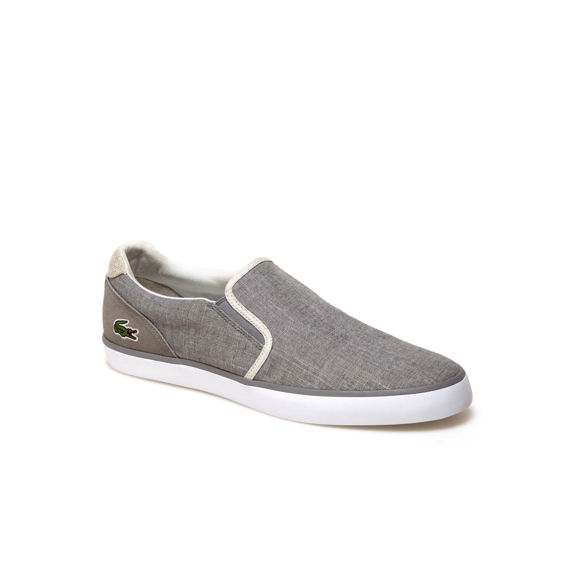 meet official shop cheapest LACOSTE Men's Jouer Slip On Canvas Slip-ons. #lacoste #shoes ...
