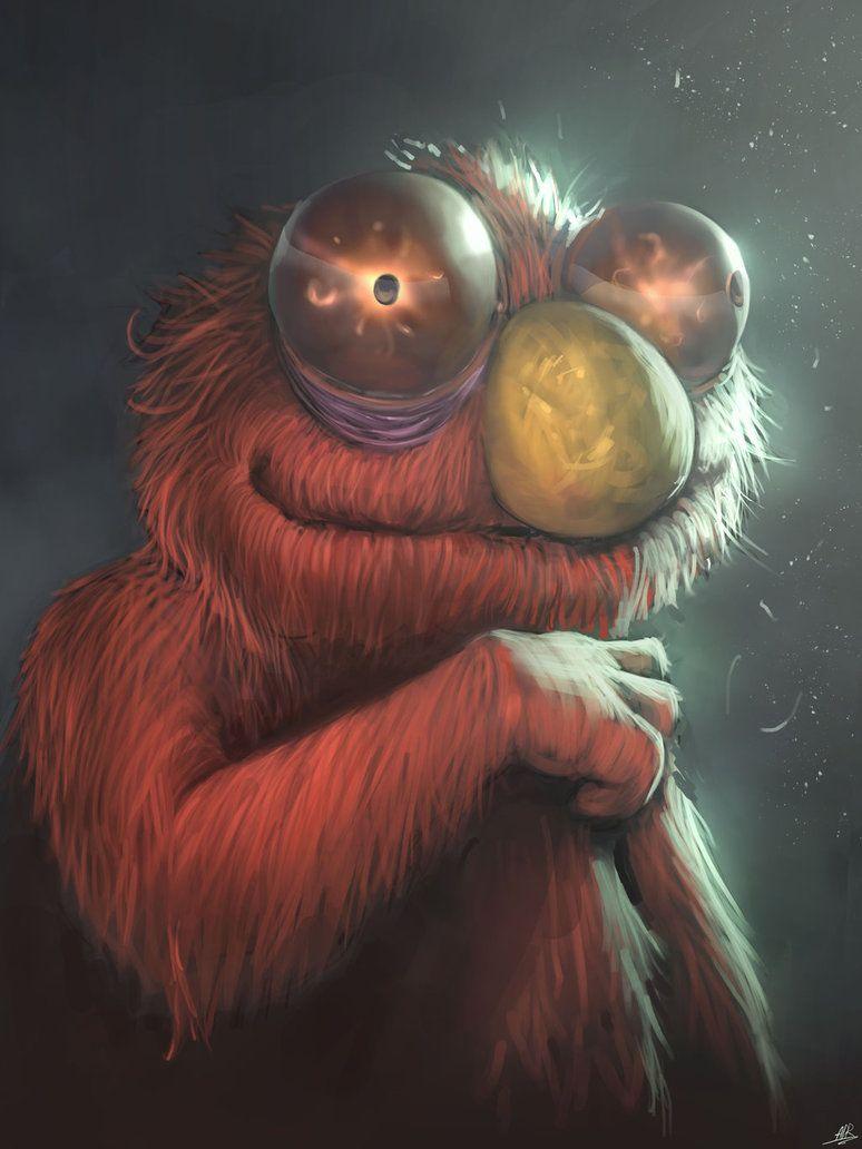 Elmo By Xxadrxx On Deviantart Art Elmo Cool Art