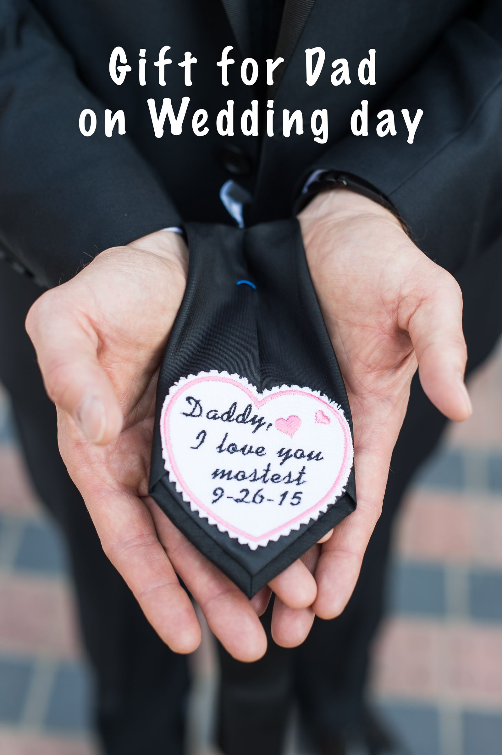 Gift for dad from daughter on wedding day wedding gifts