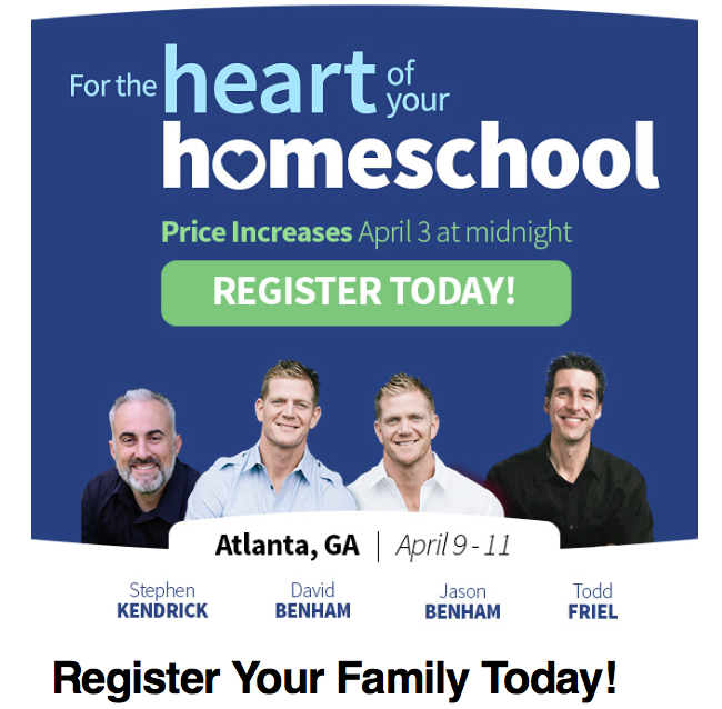 Register Online for Teach Them Diligently Atlanta - You Still Can!