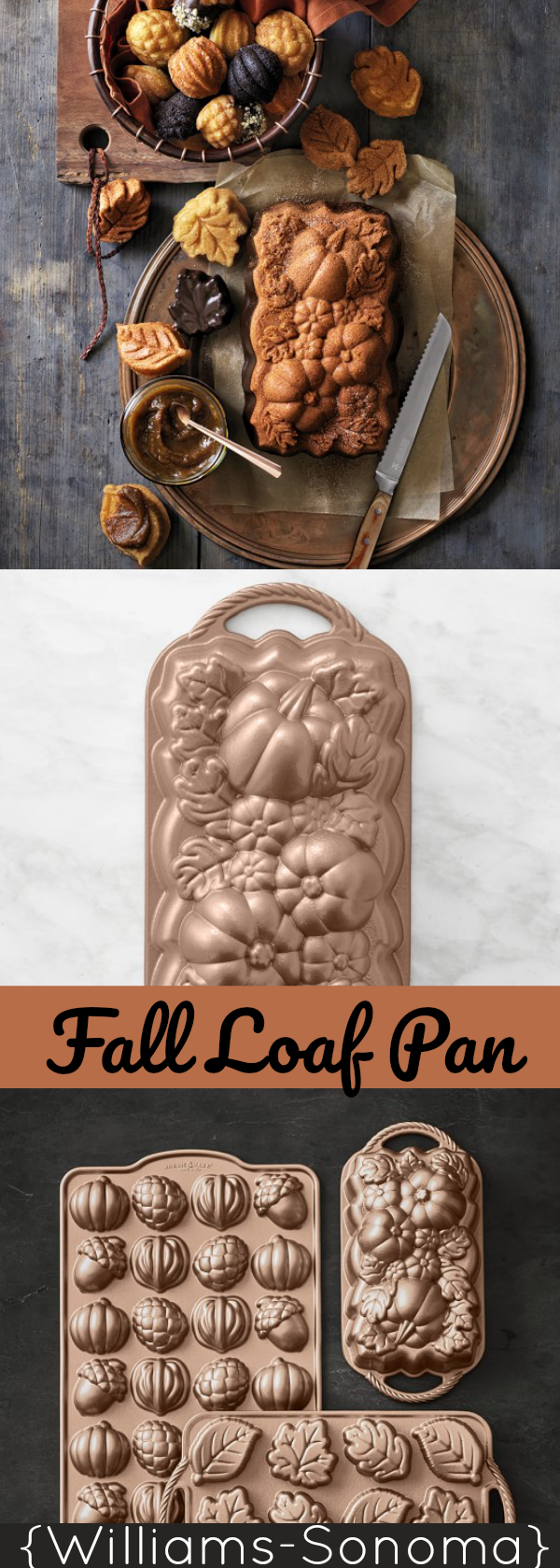Nordic Ware Fall Loaf Pan And Muffin Tins Fall Baking