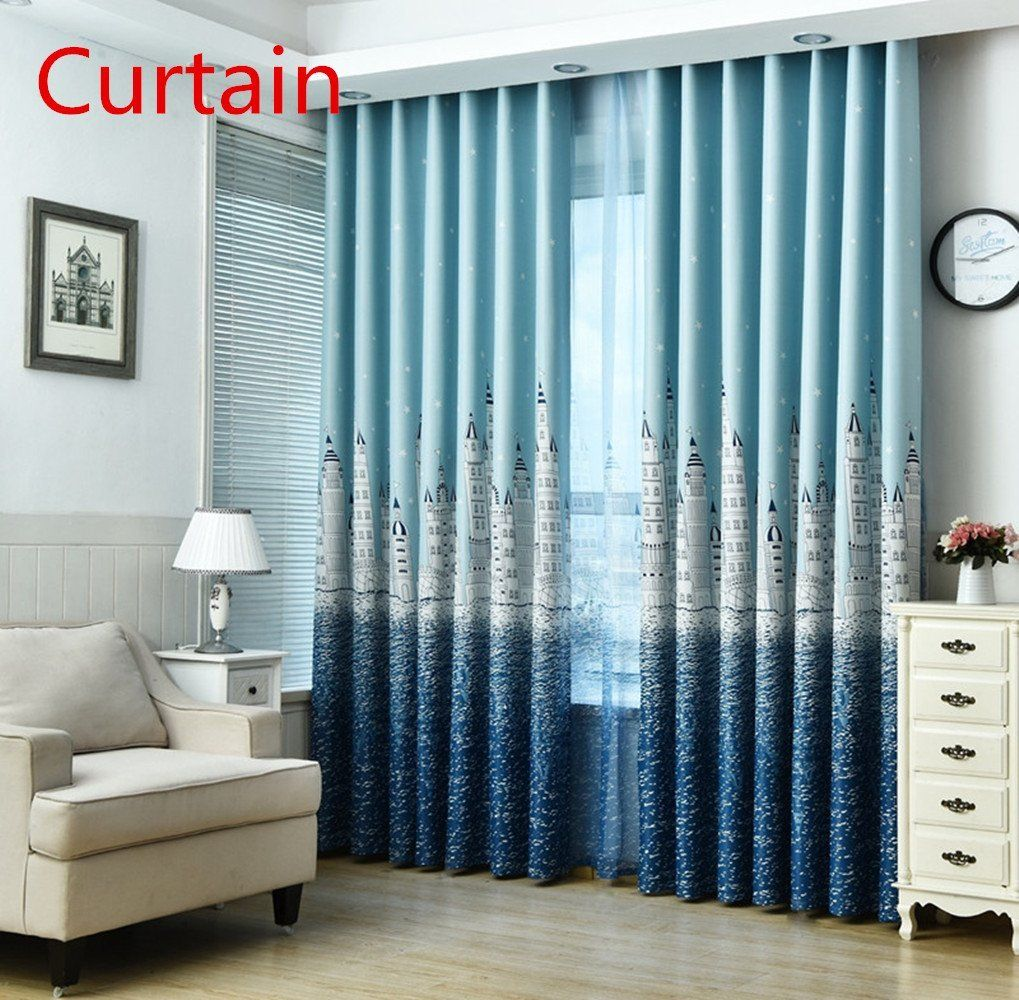Window coverings ideas  jtomoo vogue home decor pattern window curtain blackout drapes