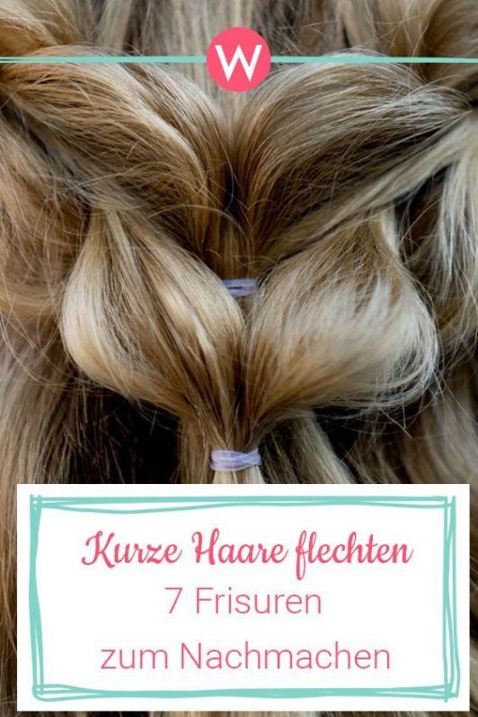 10 flechtfrisuren f r kurze haare 7 frisuren mit anleitung