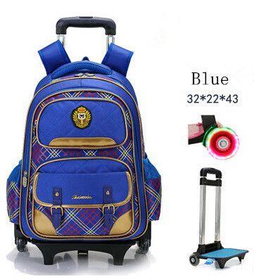 7e71d50618 Fashion flash 2 6 Wheels Girls Waterproof School Bag Boy Backpack Trolley  Bag Children School Bags Kids Wheeled Bags Girls Backp