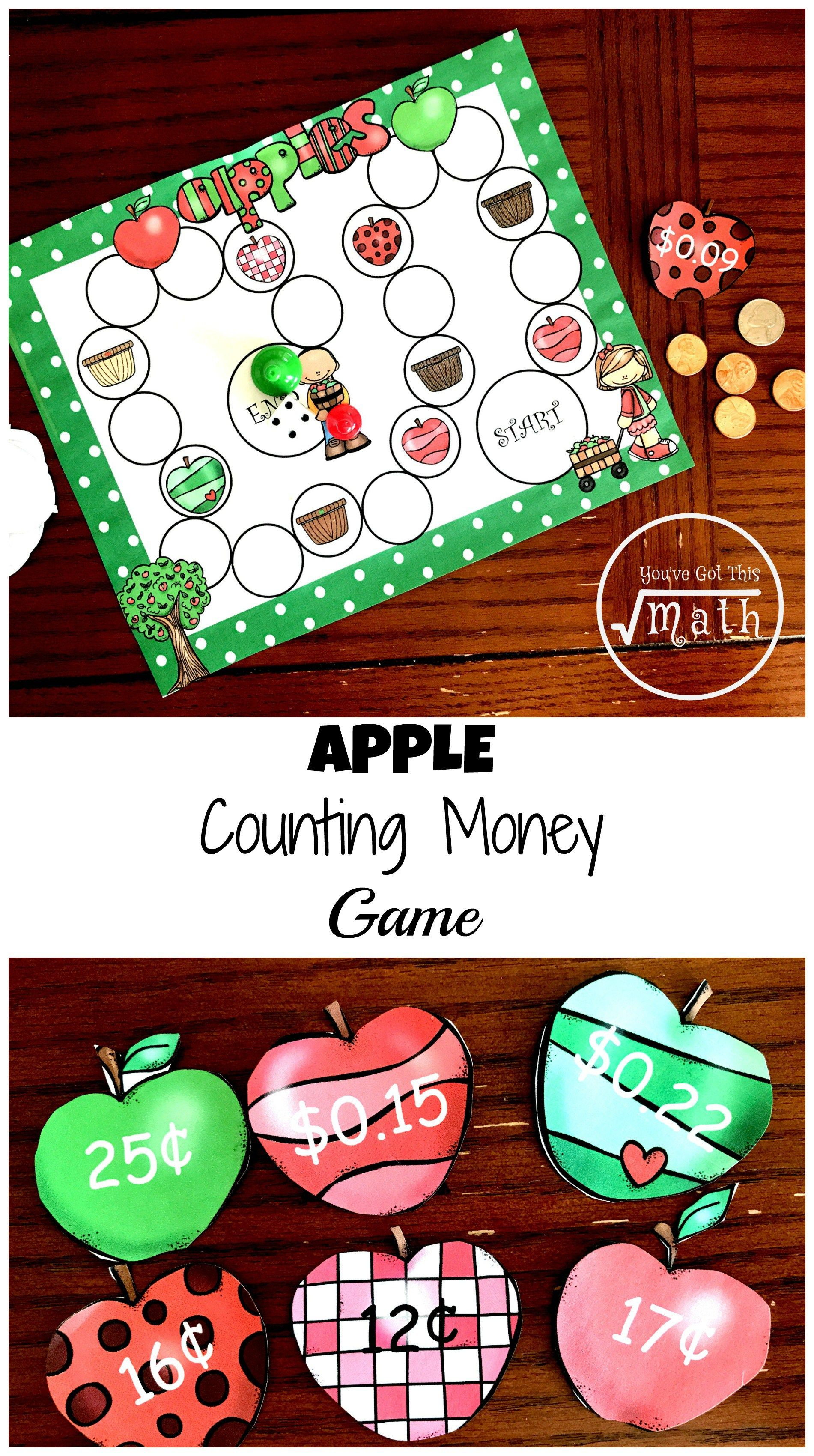 Here S A Free Counting Money Game To Practice Counting