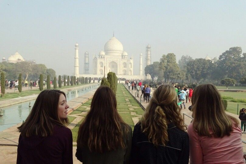 On my holiday in India with my best friends ❤❤