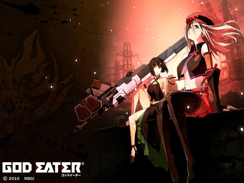 Alisa x Sakuya Anime, Japanese anime series, God eater 2