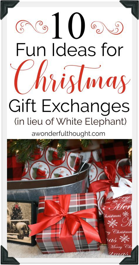 Christmas Gift Exchange Ideas Christmas Gift Exchange Games Christmas Gifts For Adults Christmas Gift Exchange Themes